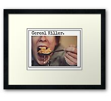 Cereal Killer Framed Print