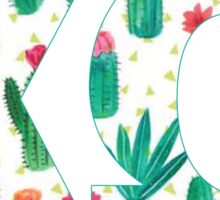 Chi Omega Cacti Sticker