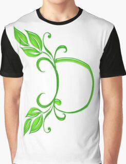 Letter D Graphic T-Shirt