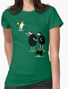 White Sheep of the Family Womens Fitted T-Shirt