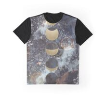 Lunar Phases Graphic T-Shirt
