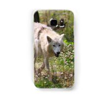 On the Run - Hudson Bay Wolf Samsung Galaxy Case/Skin