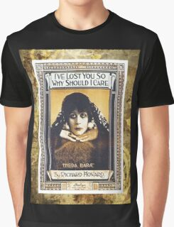 I've Lost You So Why Should I Care Sheet Music Graphic T-Shirt