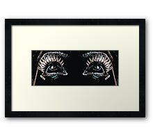 Eyes up. Framed Print