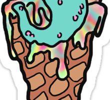 I Scream Tie-Die Style Sticker