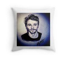 James Franco Throw Pillow