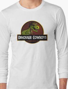 Dinosaur Cowboys Long Sleeve T-Shirt