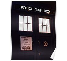 Travel in time through the TARDIS Doors.... Poster