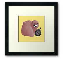 Drop Bombs Framed Print