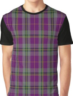 02100 Wicks Tartan Graphic T-Shirt