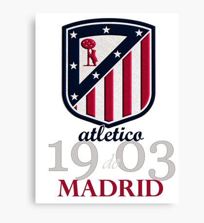 Atletico Madrid club football Canvas Print