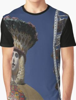 Fortuna In Prater, Vienna Austria Graphic T-Shirt