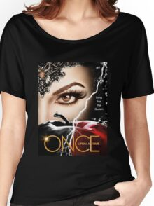 once upon a time season 6, ouat 6, once upon a time regina, ouat regina, regina, evil regina returns, evil queen returns, season 6, evil queen is back Women's Relaxed Fit T-Shirt