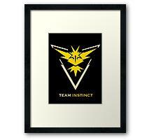 Team Instinct Black Framed Print