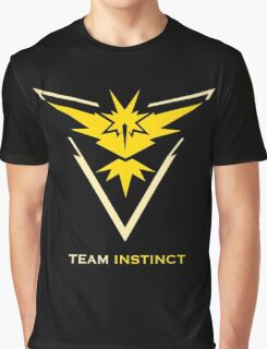 Team Instinct Black Graphic T-Shirt