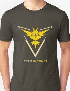Team Instinct Black Unisex T-Shirt