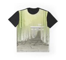 Bakemonogatari - Scenery Graphic T-Shirt