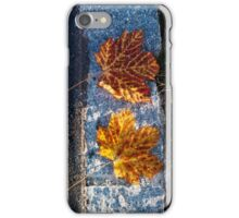 two left leaves iPhone Case/Skin