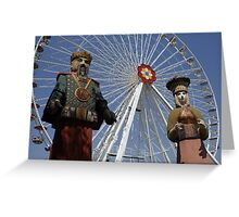 Calafati In Prater, Vienna Austria Greeting Card