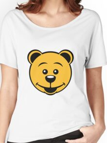 Teddy Bear (Smile) Women's Relaxed Fit T-Shirt