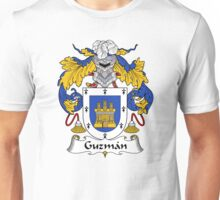 Guzman Coat of Arms/Family Crest Unisex T-Shirt