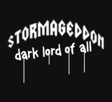 Stormageddon - Dark Lord of ALL One Piece - Short Sleeve