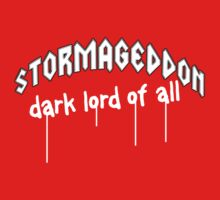 Stormageddon - Dark Lord of ALL Kids Tee