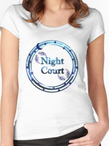 Night Court Women's Fitted Scoop T-Shirt