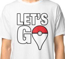 """Pokémon GO - """"Let's GO"""" Classic T-Shirt"""