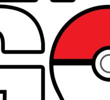 """Pokémon GO - """"Let's GO"""" Sticker"""