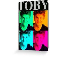 Toby/Keegan Allen Greeting Card