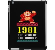 Donkey Kong Gamer tshirt iPad Case/Skin
