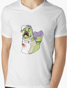Monster Fishman Cooker Mens V-Neck T-Shirt