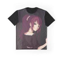 Bakemonogatari - Senjougahara Hitagi Graphic T-Shirt