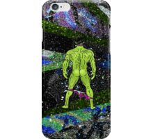 Incredible Butt in Mermaid Peacock Space iPhone Case/Skin