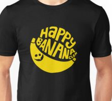 HAPPY BANANA T SHIRT funny men's Clem Wear street surf BMX skate scooter punk Unisex T-Shirt