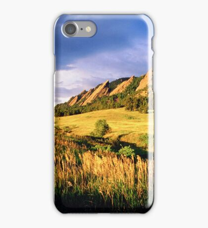 Summer At The Flatirons iPhone Case/Skin