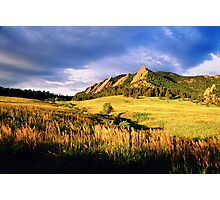Summer At The Flatirons Photographic Print