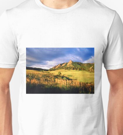 Summer At The Flatirons Unisex T-Shirt