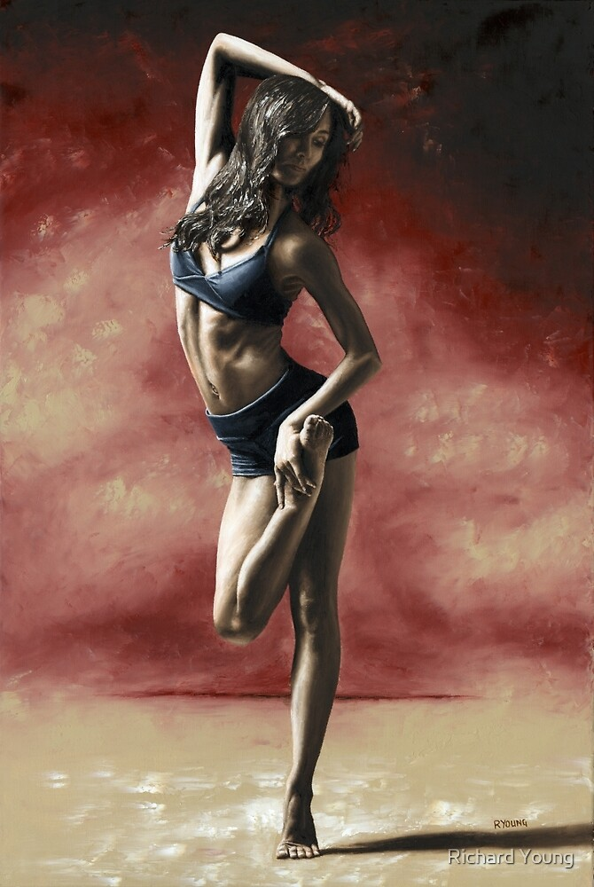 Sultry Dancer by Richard Young