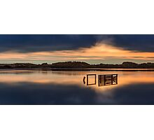 Crosby Marina through the clouds Photographic Print