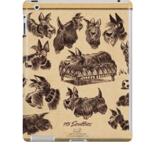 15 scotties iPad Case/Skin