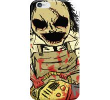 Leatherface. The Texas Chainsaw Massacre iPhone Case/Skin