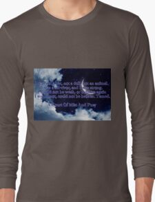 A Court of Mist and Fury Quote Long Sleeve T-Shirt