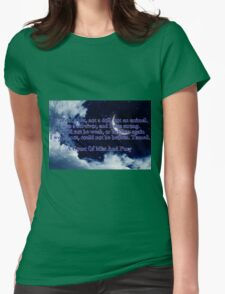 A Court of Mist and Fury Quote Womens Fitted T-Shirt