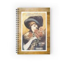 After While Victorian Woman Sheet Piano Music Spiral Notebook