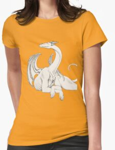 Dragon in Light Womens Fitted T-Shirt