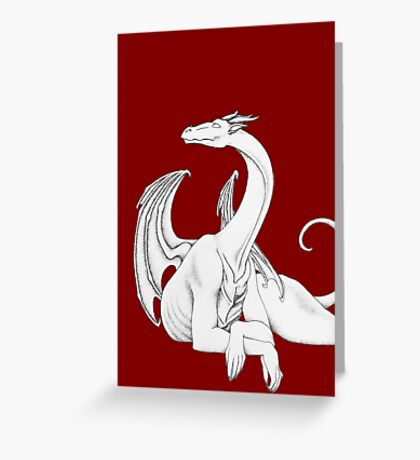 Dragon in Light Greeting Card