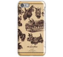 15 scotties iPhone Case/Skin
