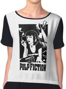 -TARANTINO- Pulp Fiction Cover Chiffon Top